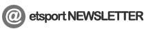 etsport NEWSLETTER